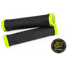 Sixpack K-Trix Lock-On Grips Non Glove, black/neon-yellow matt